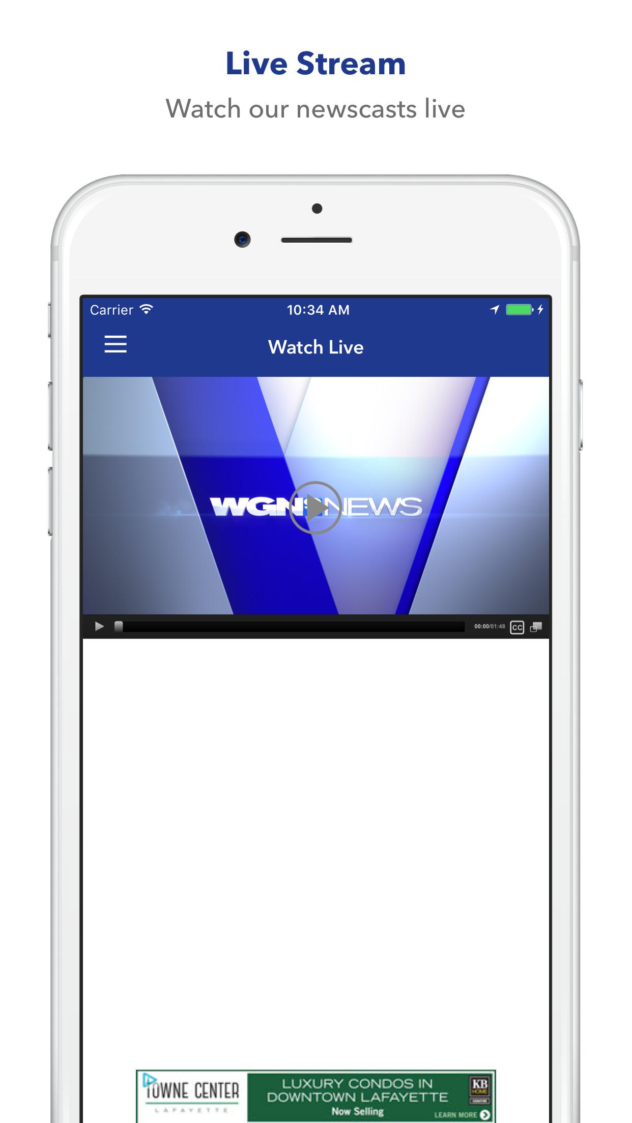 WGN News - Chicago Screenshot