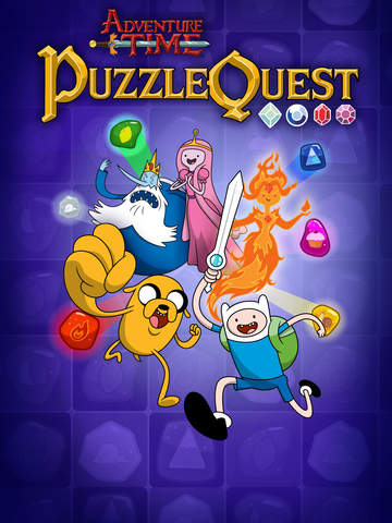 Adventure Time Puzzle Quest - Match 3 RPG Game Screenshot