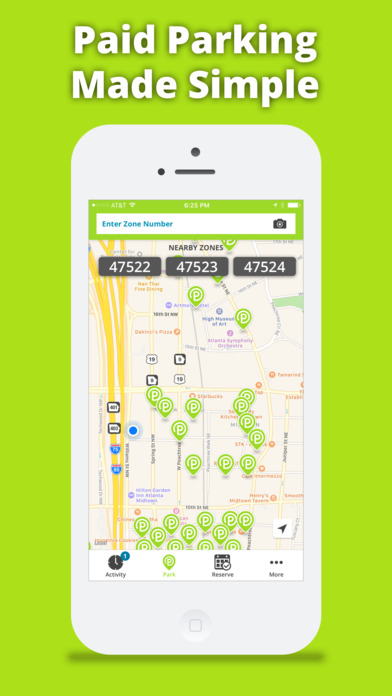 Parkmobile Screenshot