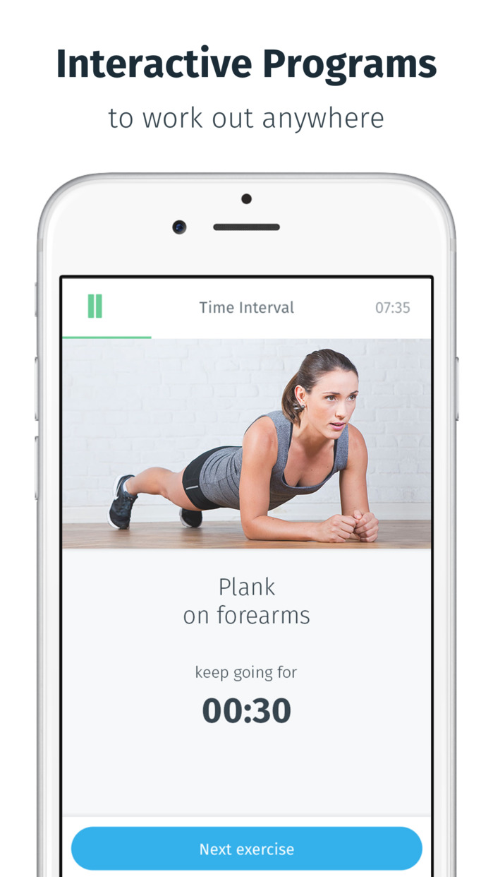 8fit - Workouts, meal planner and personal trainer Screenshot