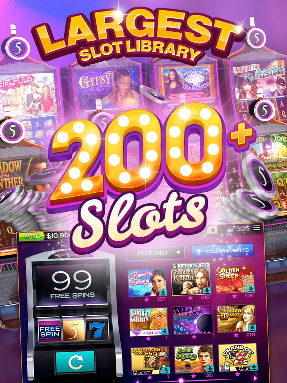 Over 275 thrilling slots!