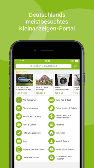 ebay kleinanzeigen on the app store. Black Bedroom Furniture Sets. Home Design Ideas