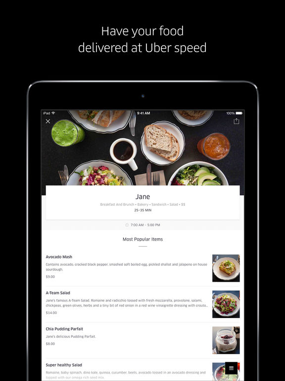 Food Delivery App Amsterdam