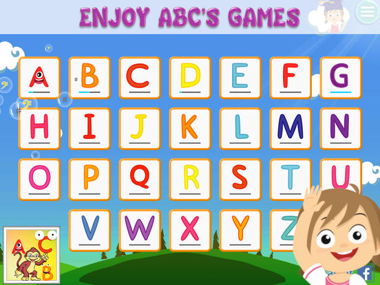 App Shopper: Alphabet Abc's Game For Kids Tracing