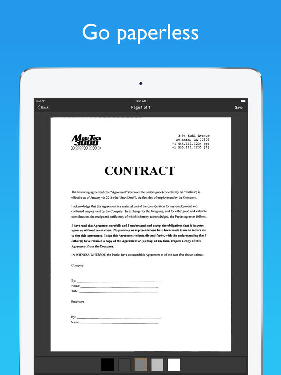 sc1024x768 This Ultra-High Praise Document Scanner App, is free for Limited Time