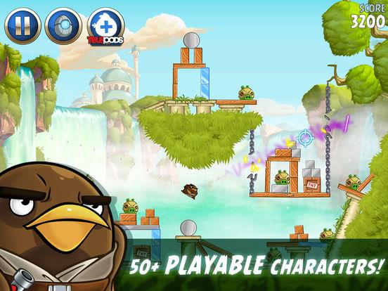 #3. Angry Birds Star Wars II (iOS)