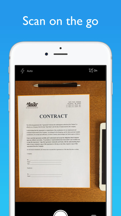 screen696x696 This Ultra-High Praise Document Scanner App, is free for Limited Time