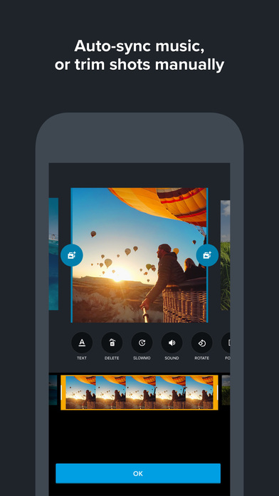 Quik – GoPro Video Editor to edit clips with music Screenshot