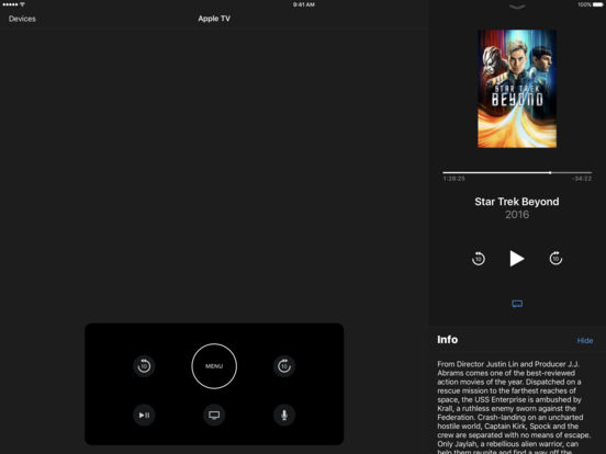sc552x414 Apple releases new 'Apple TV Remote' app, Download Now