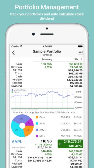 Stock options app