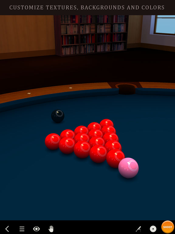 Pool Break - 3D Бильярд и Снукер Screenshot