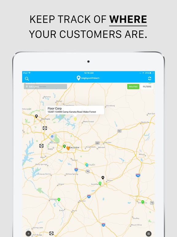Map My Customers, Route Planner & Sales Automation :: iPAHub Map My Route on map sf 5k route, mapping a route, map my trip, map my city, map my drives, map my run, map my state, map of my land, map out a route trip, map my distance, map my name, map my place, plan my route, chart my route,
