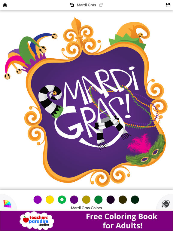fat tuesday coloring pages - photo #44