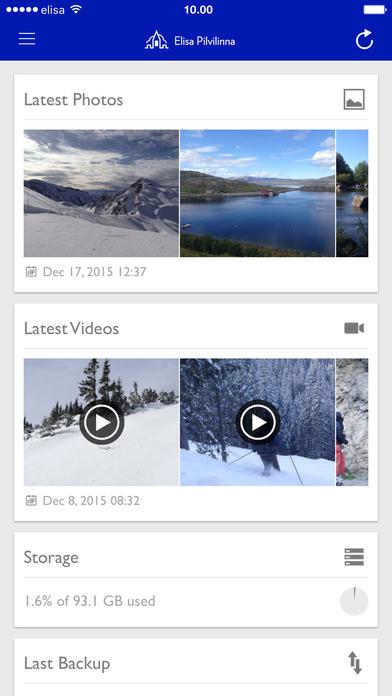 Elisa Pilvilinna Plus on the App Store