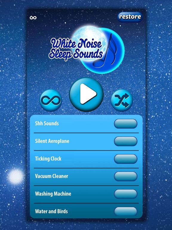 App Shopper White Noise Sleep Sounds Relaxing Music For