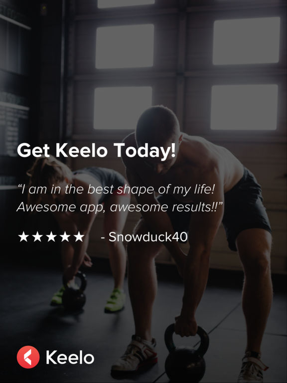 Keelo — High Intensity HIIT Workouts at Home & Gym Screenshot