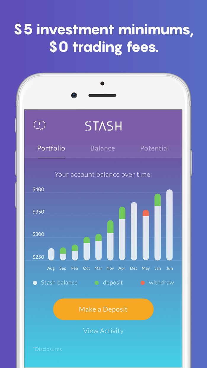 Stash Invest: Investing & Financial Education Screenshot