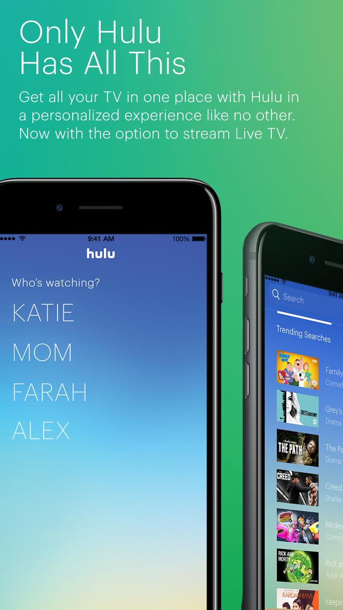 Hulu: Watch TV Shows & Stream the Latest Movies Screenshot