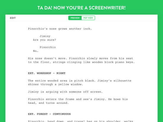 best screenplay writing apps