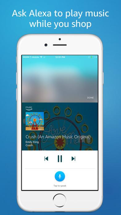 Amazon app shop iphone