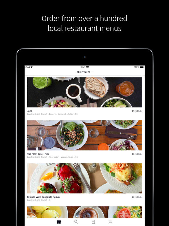 Taipei Food Delivery App