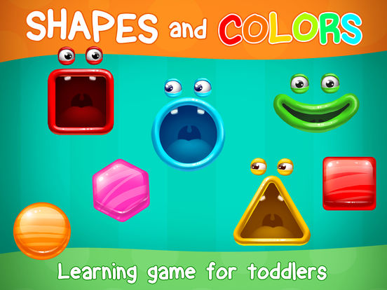 App Shopper: Shapes & Colors Toddler Baby Kids Learning