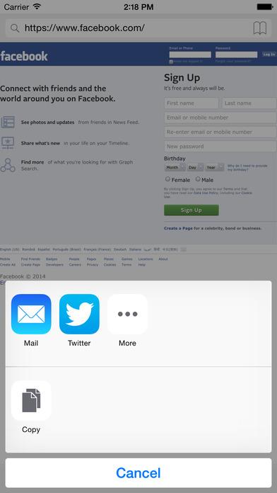 Desktop View Browser Screenshots