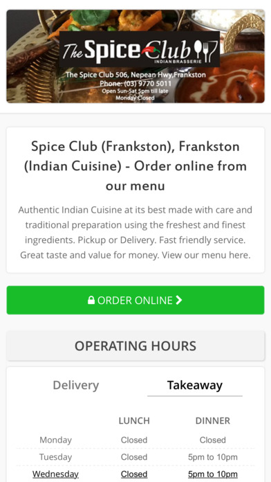 Food Delivery Frankston