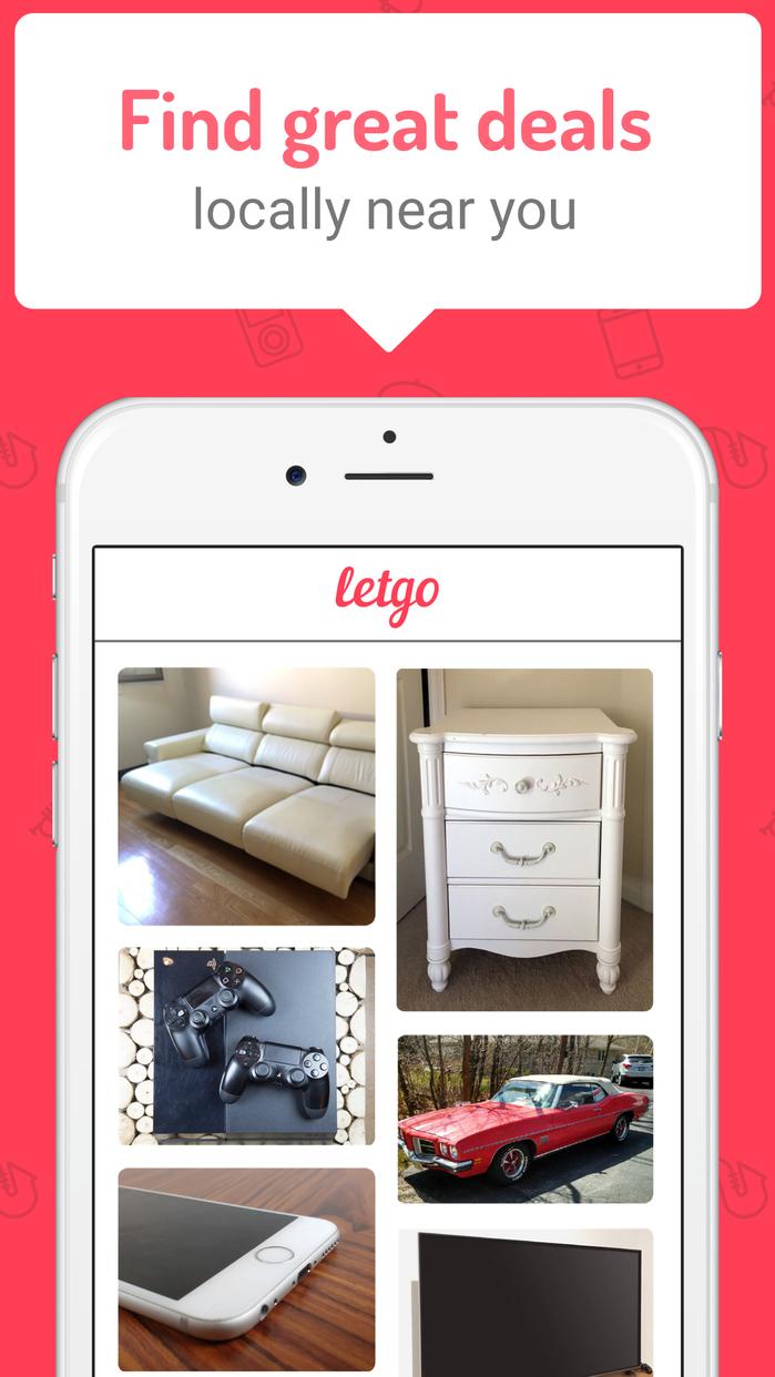 letgo: Buy & Sell Second Hand Stuff Screenshot
