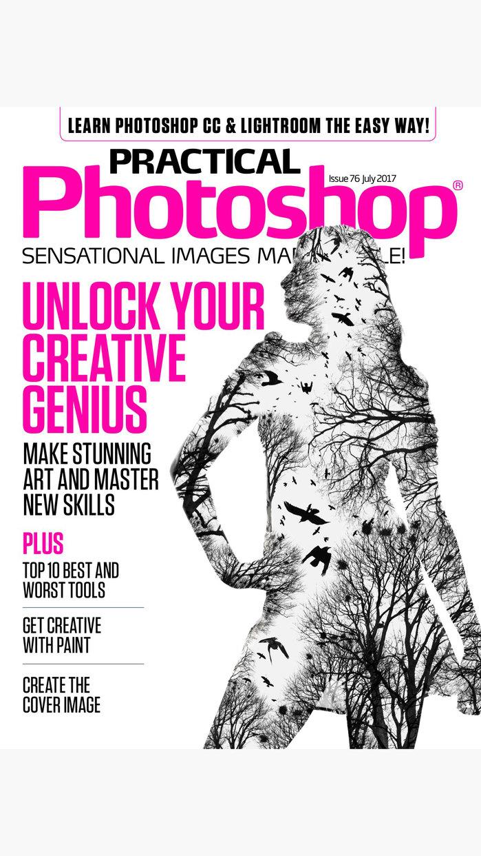Practical Photoshop: the Adobe Photoshop magazine Screenshot