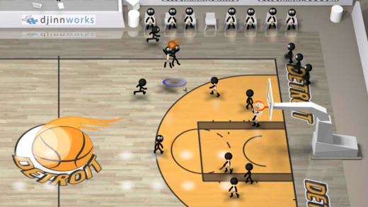 Stickman Basketball Screenshot