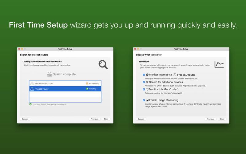 PeakHour 4 for Mac 4.0.9 注册版 – Mac上优秀的实时网络监控工具-麦氪派