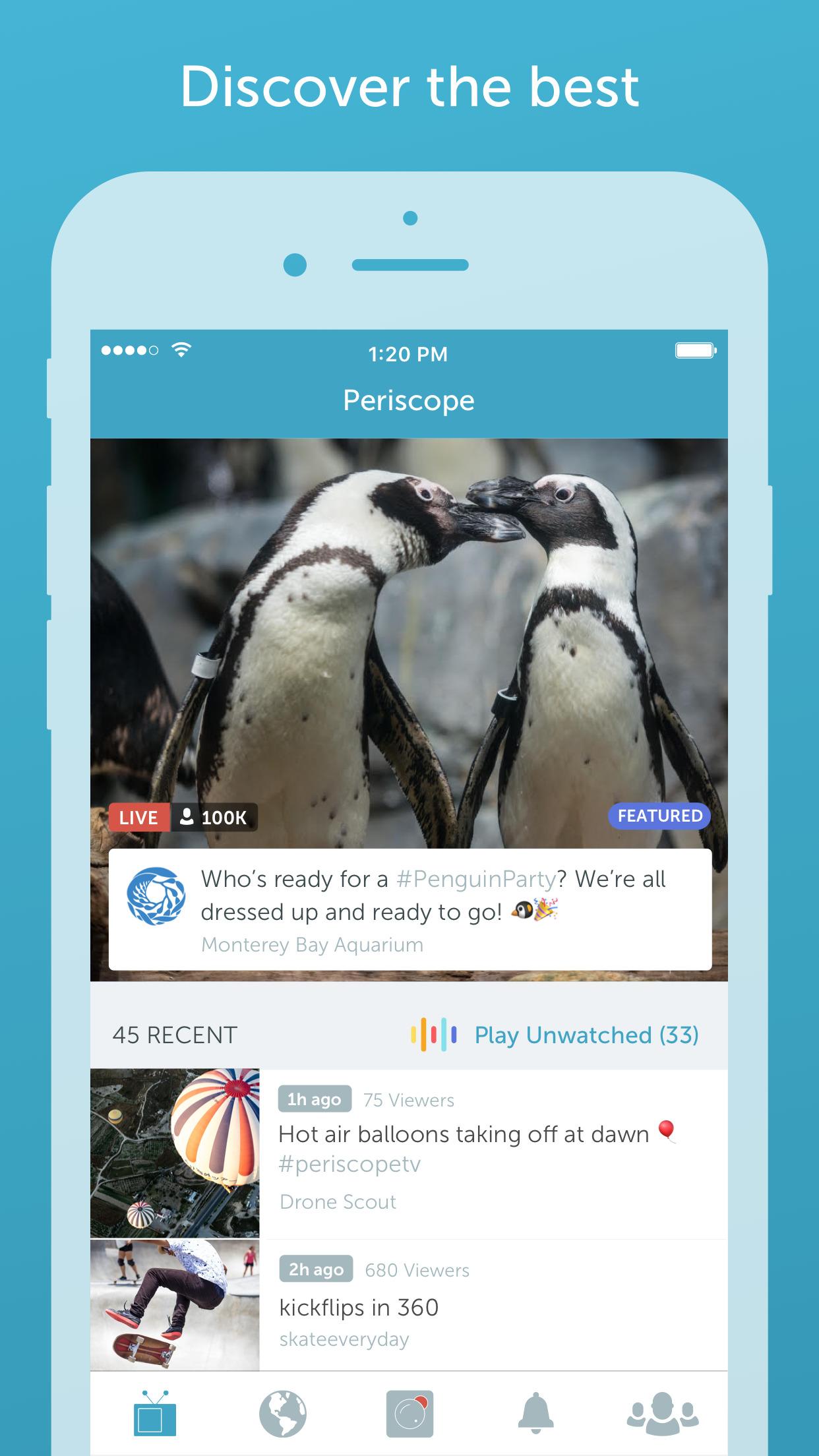 Periscope - Live Video Streaming Around the World Screenshot