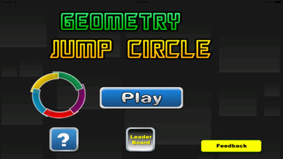Geometry Jump Circle - Amazing Color In The Circle Jump Game Screenshot on iOS