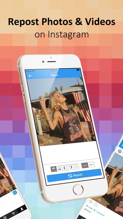 Repost Instagram Gratis Iphone