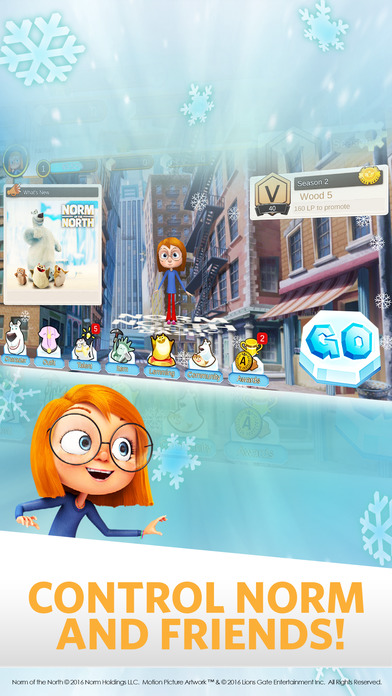 Arctic Dash: Norm of the North Screenshot on iOS