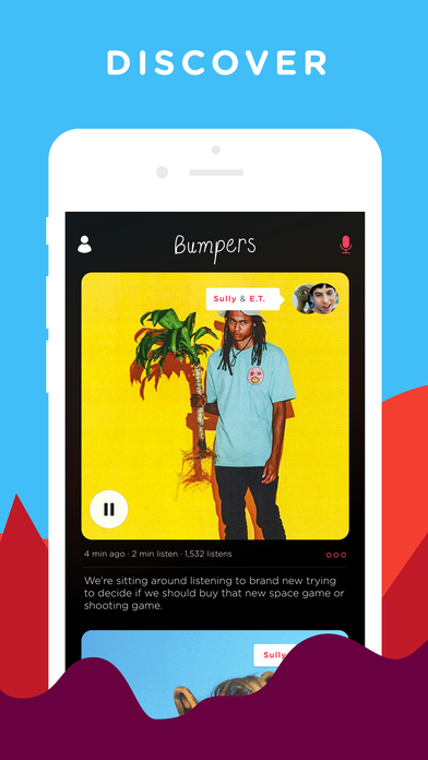 Bumpers - Record, Edit and Listen Screenshot