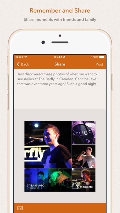 Momento — Private Diary / Daily Journal Screenshot