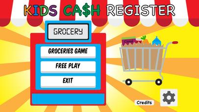 kids cash register grocery toy supermarket checkout calculator