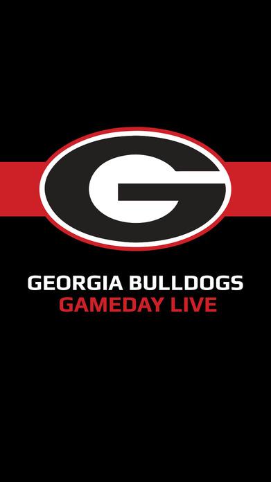 Georgia Bulldogs Gameday LIVE Screenshot