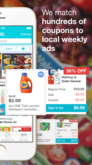 Flipp - Flyers, Coupons, and Shopping List Screenshot