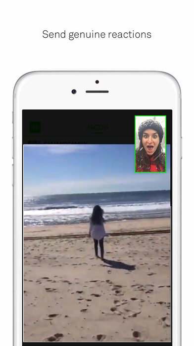 beme: Share video. Honestly. Screenshot