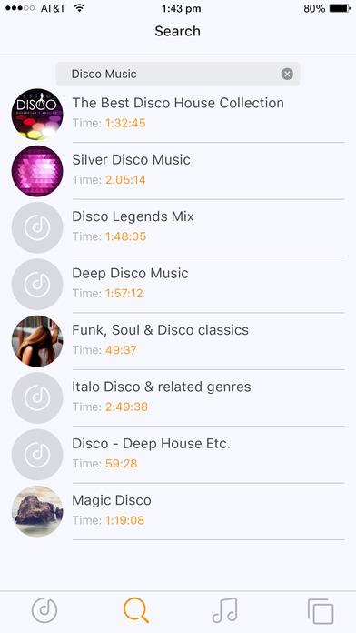 Free Music - Audio Streamer & Player . Screenshot