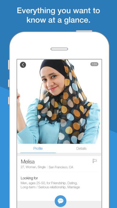 Single muslim app