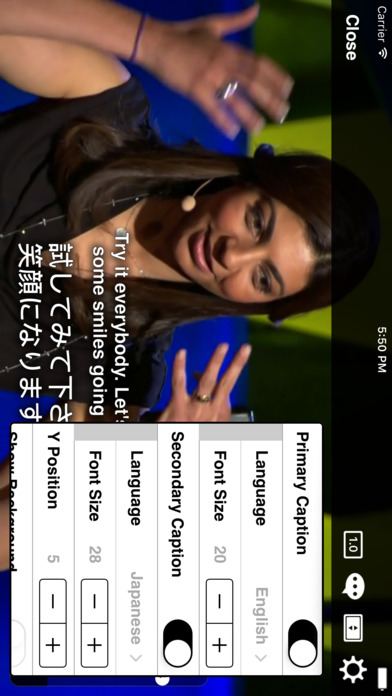 TEDiSUB - Enjoy TED Talks with Subtitles Screenshot