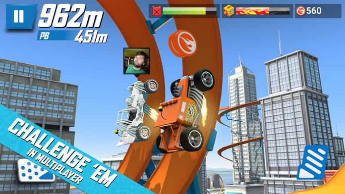 Hot Wheels: Race Off Screenshot