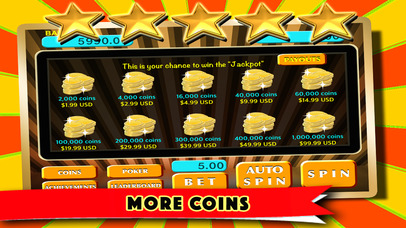 Free Slot Machines Triple Star - Las Vegas Slots Machines Spin and Win Screenshot on iOS