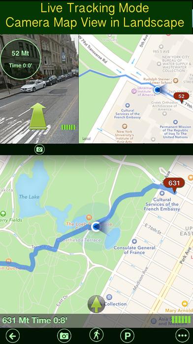 Parking+GPS Locations Screenshots