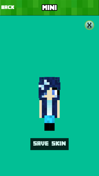 BABY SKINS FREE Aphmau FNAF Skin for Minecraft PE Screenshot on iOS