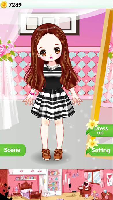 Lovely Princess-Cute Girl's Closet Screenshot on iOS